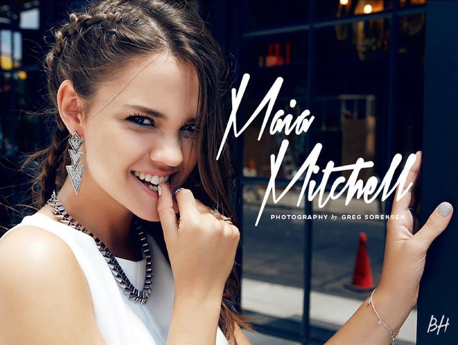 Beauty Fashion Editorial Photography of Celebrity Maia Mitchell I Greg Sorensen I Fashion & Beauty Photographer I NYC