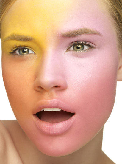 Colorful Beauty Photography Makeup Editorial I Greg Sorensen I Fashion & Beauty Photographer I NYC
