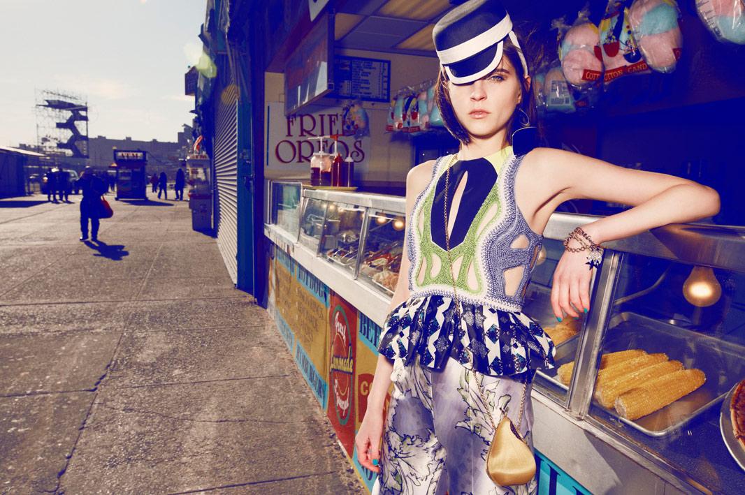 Coney Island High Editorial Fashion Story for Never Underdressed Magazine I Greg Sorensen I Fashion & Beauty Photographer I NYC