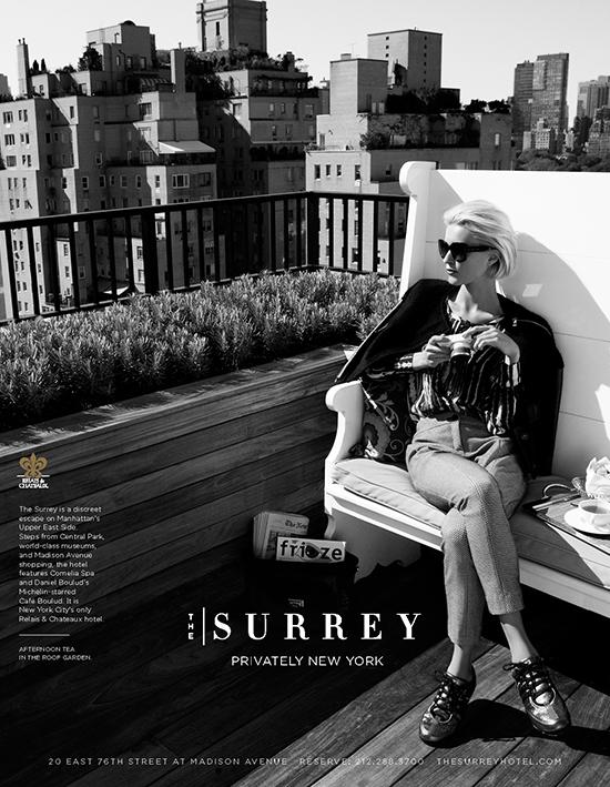 Lifestyle Advertising Campaign Photography - Surrey Hotel I Greg Sorensen I Fashion & Beauty Photographer I NYC