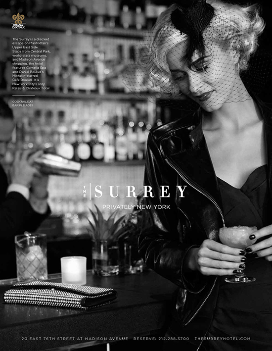 Lifestyle Advertising Campaign Photography - Surrey Hotel I Greg Sorensen I Fashion & Beauty Photographer I NYC