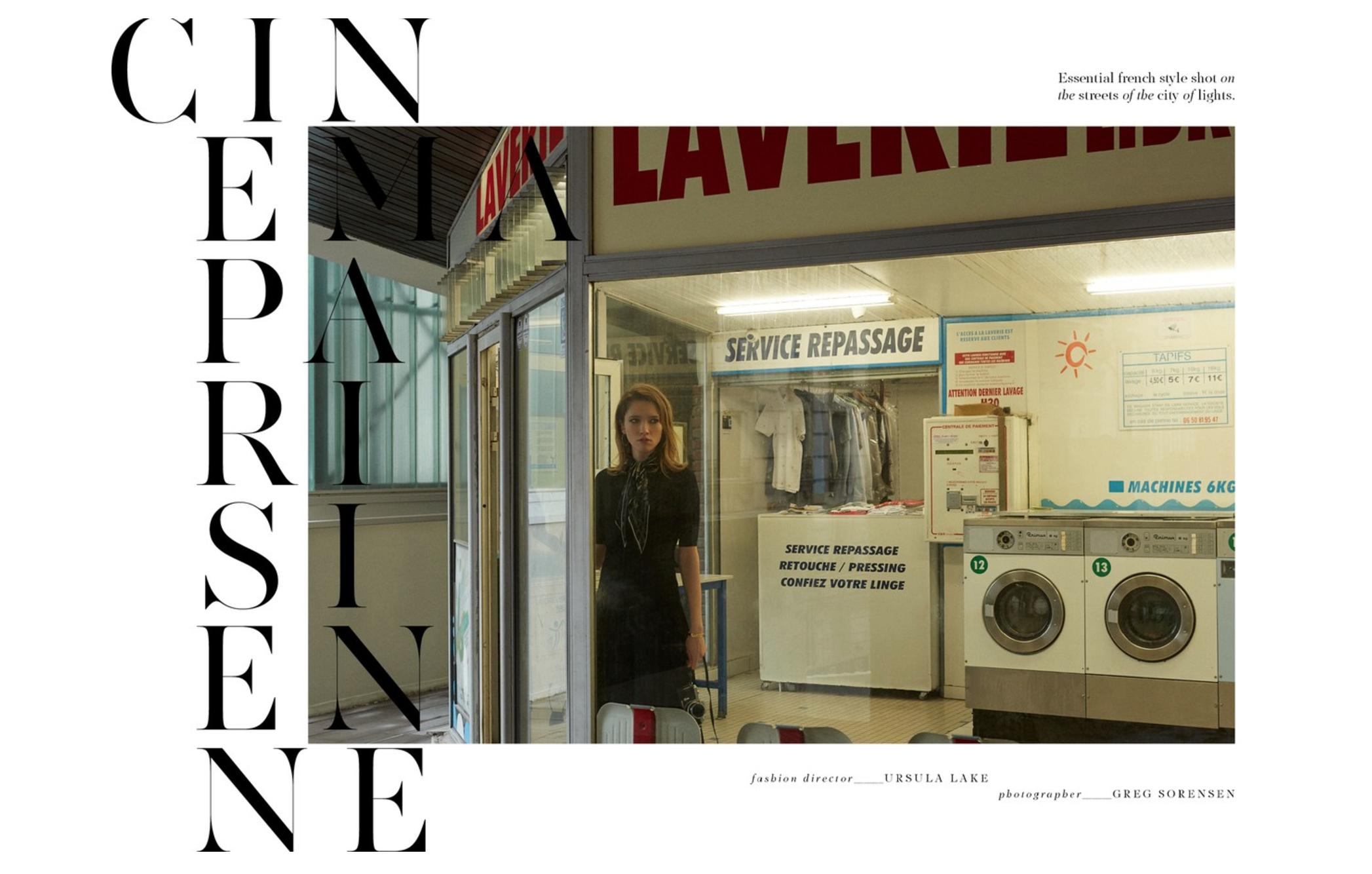 Fashion Editorial Photography - Make Magazine - Model Roxane Glineur I Greg Sorensen I Fashion & Beauty Photographer I NYC