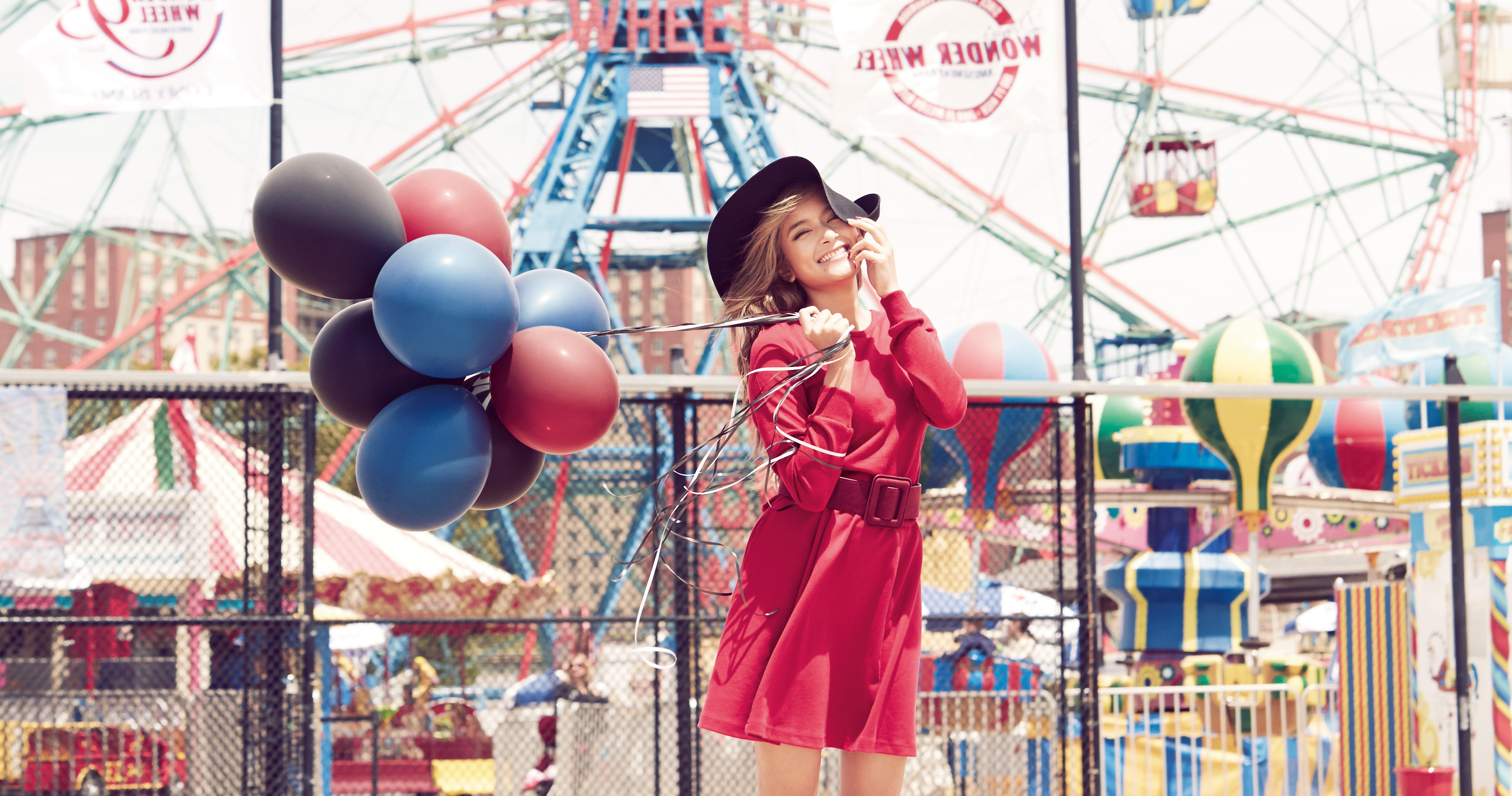 Peach John Japanese Advertising Campaign Coney Island - Model Rola I Greg Sorensen I Fashion & Beauty Photographer I NYC