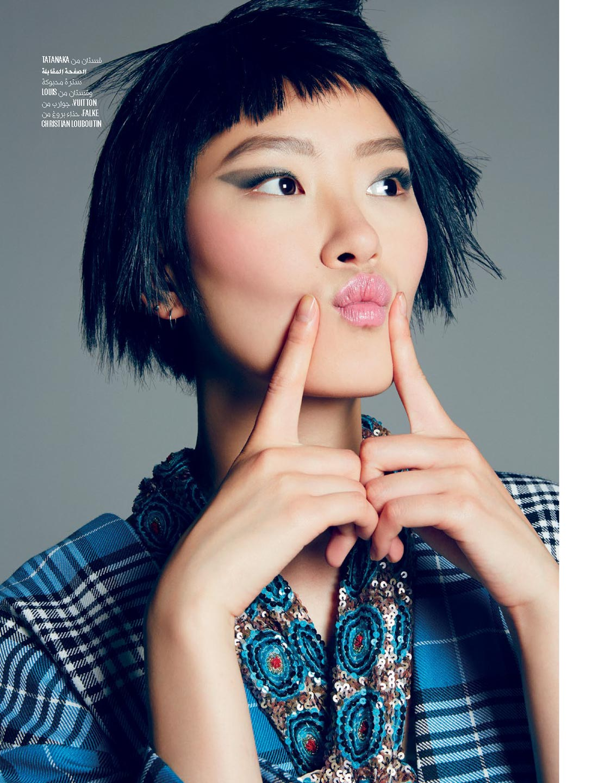 Fun Color Fashion Story - Vogue Arabia Magazine - Model Pong Lee I Greg Sorensen I Fashion & Beauty Photographer I NYC