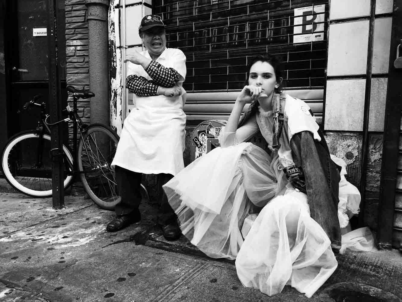 Chinatown Fashion Story - Make Magazine - Model Anna Hagood I Greg Sorensen I Fashion & Beauty Photographer I NYC