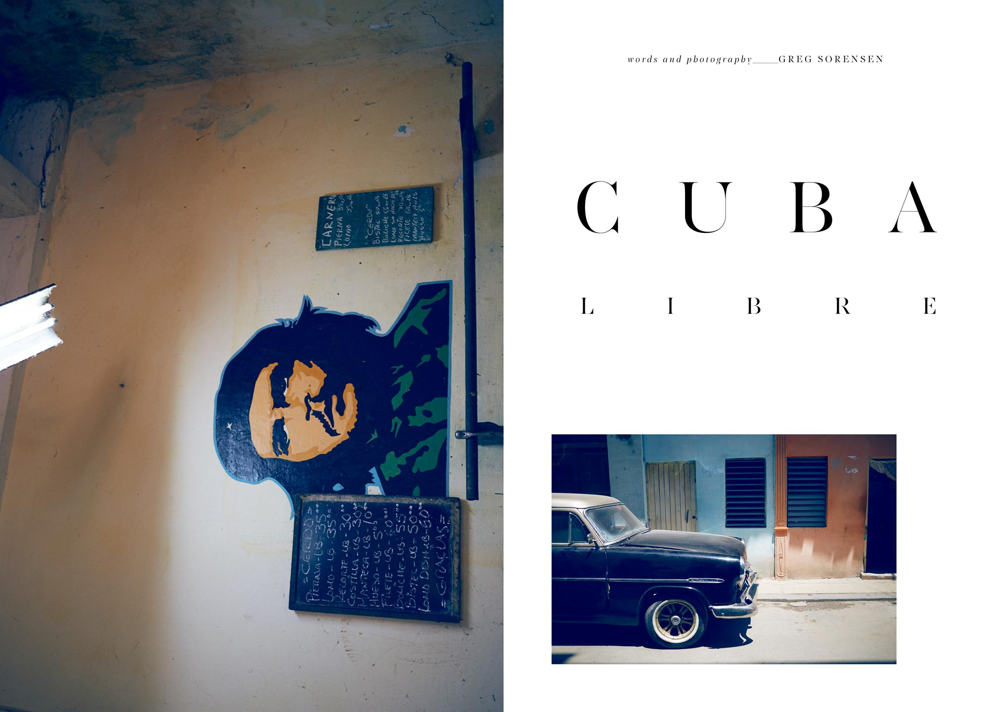 Lifestyle Travel Story - Make Magazine - Havana Cuba I Greg Sorensen I Fashion & Beauty Photographer I NYC