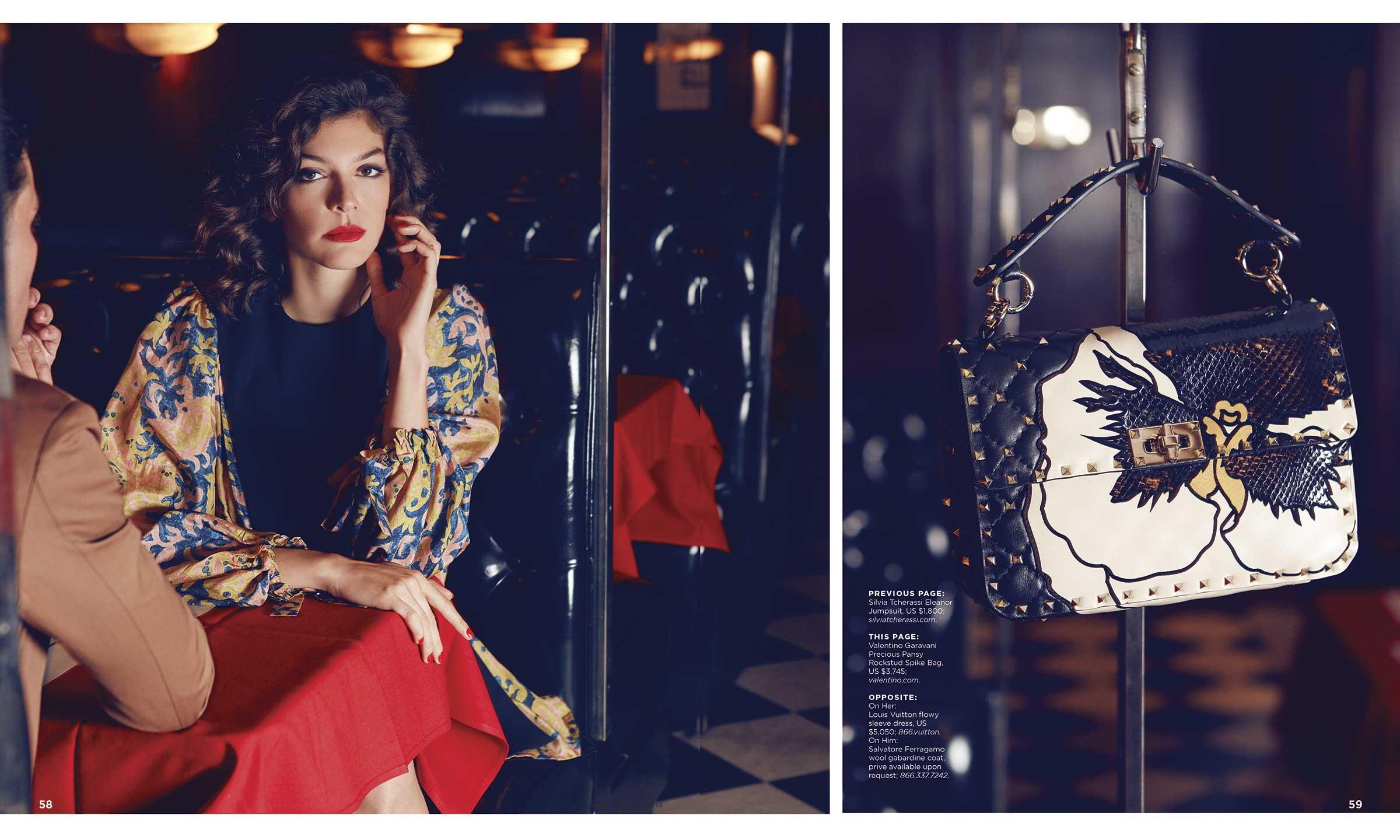 Fashion Story - Cover Story - JW Marriott Magazine - Essex House I Greg Sorensen I Fashion & Beauty Photographer I NYC