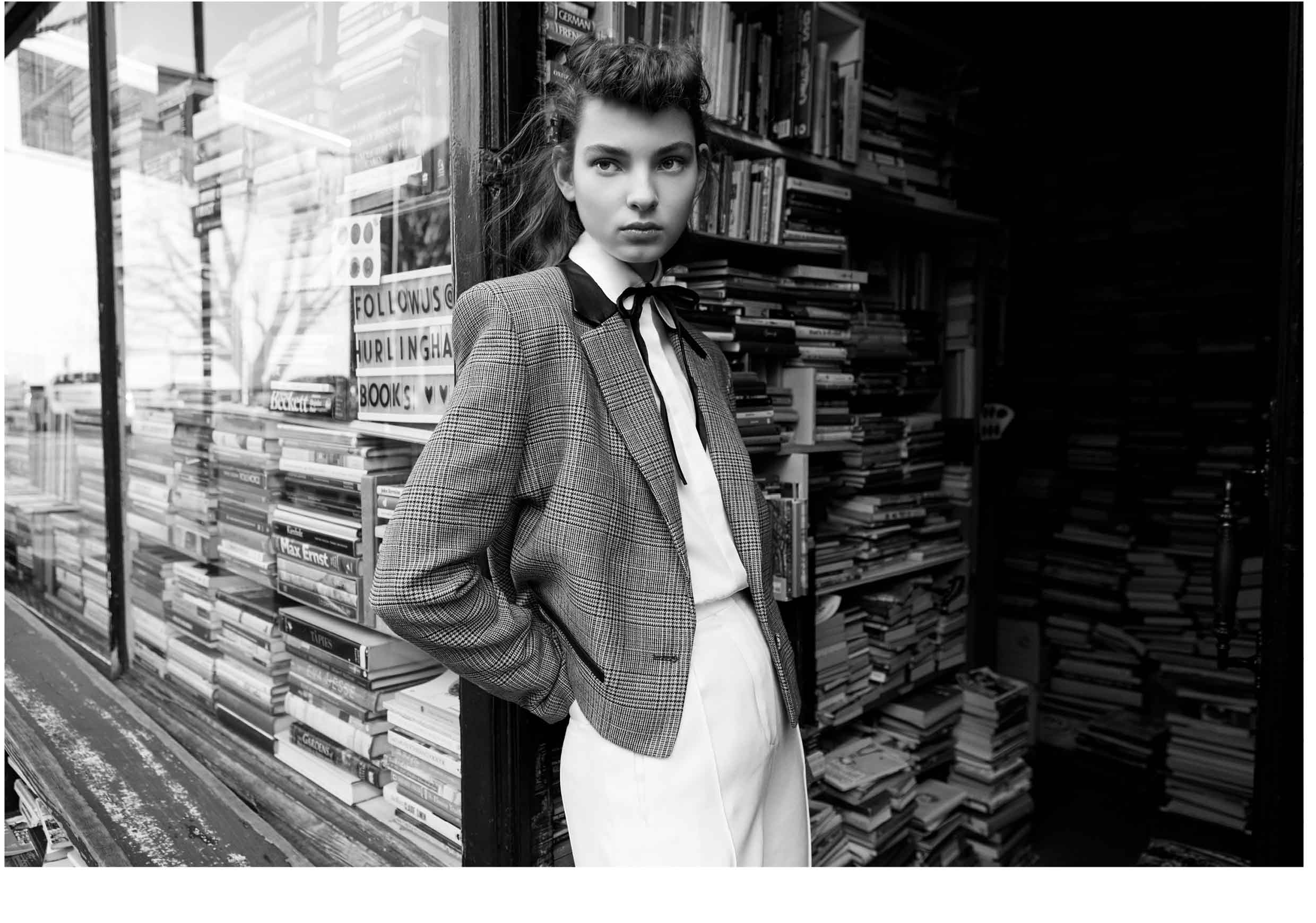 Teddy Boy Fashion Story - Make Magazine - Model Zhenya Migovych I Greg Sorensen I Fashion & Beauty Photographer I NYC