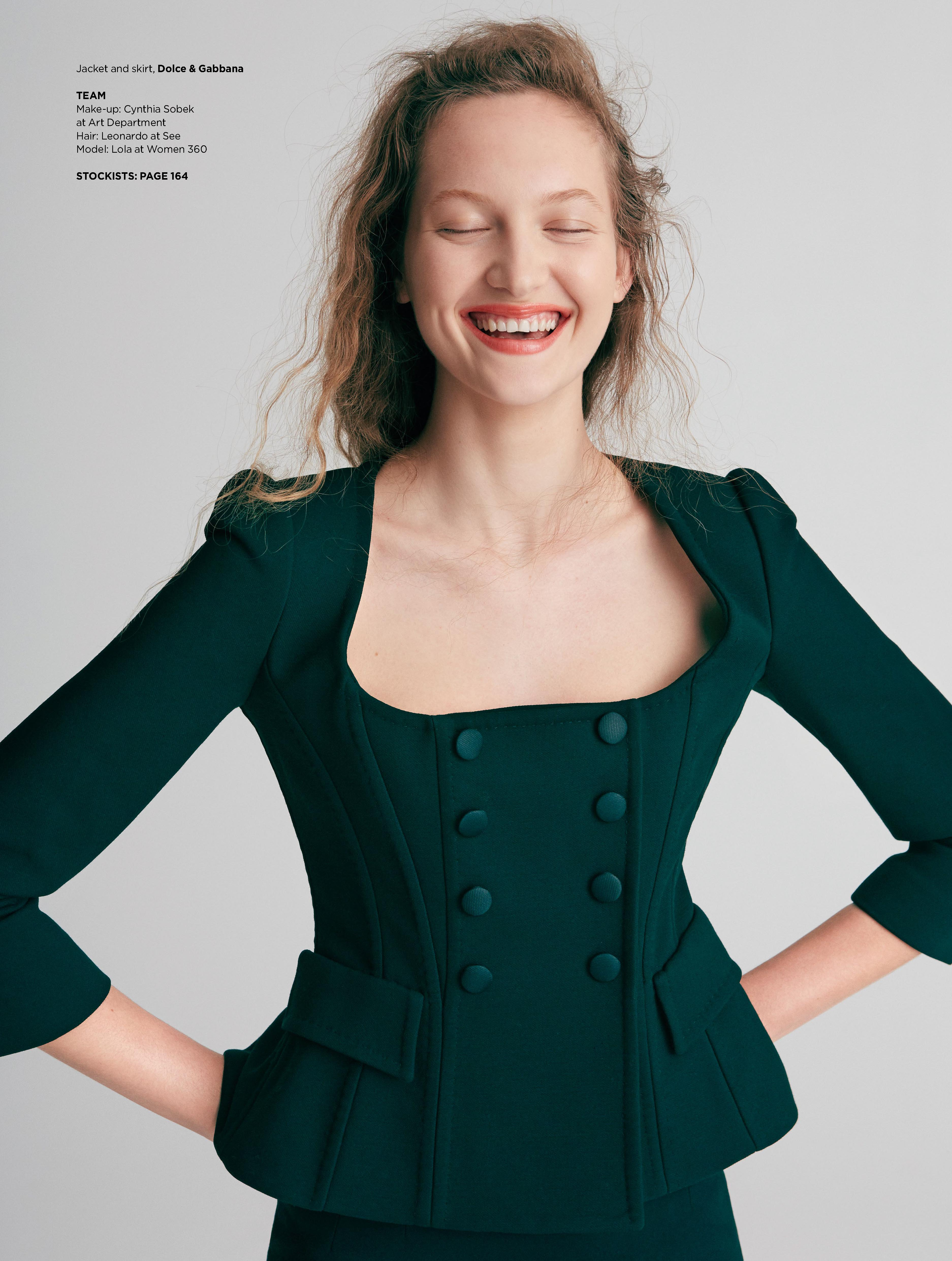 Fashion Story Country & Town House Model Lola Votruba I Greg Sorensen I Fashion & Beauty Photographer I NYC