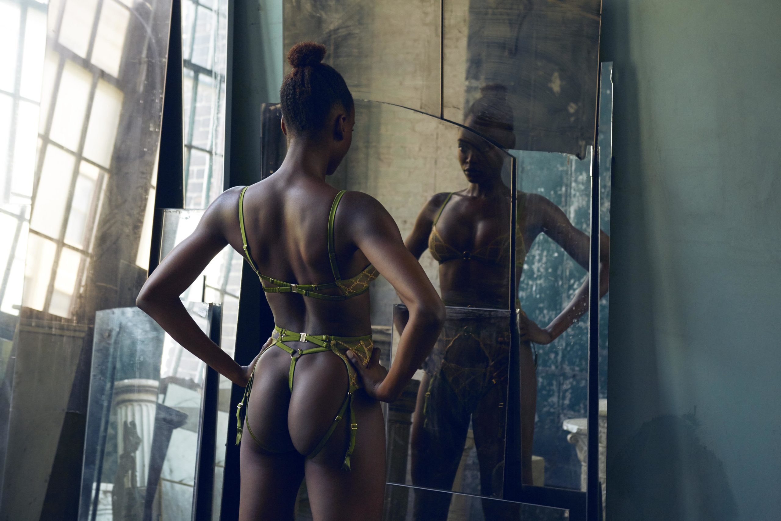 Studio Pia for Journelle Lingerie Campaign featuring model Nneoma Anosike I Greg Sorensen I Fashion & Beauty Photographer I NYC