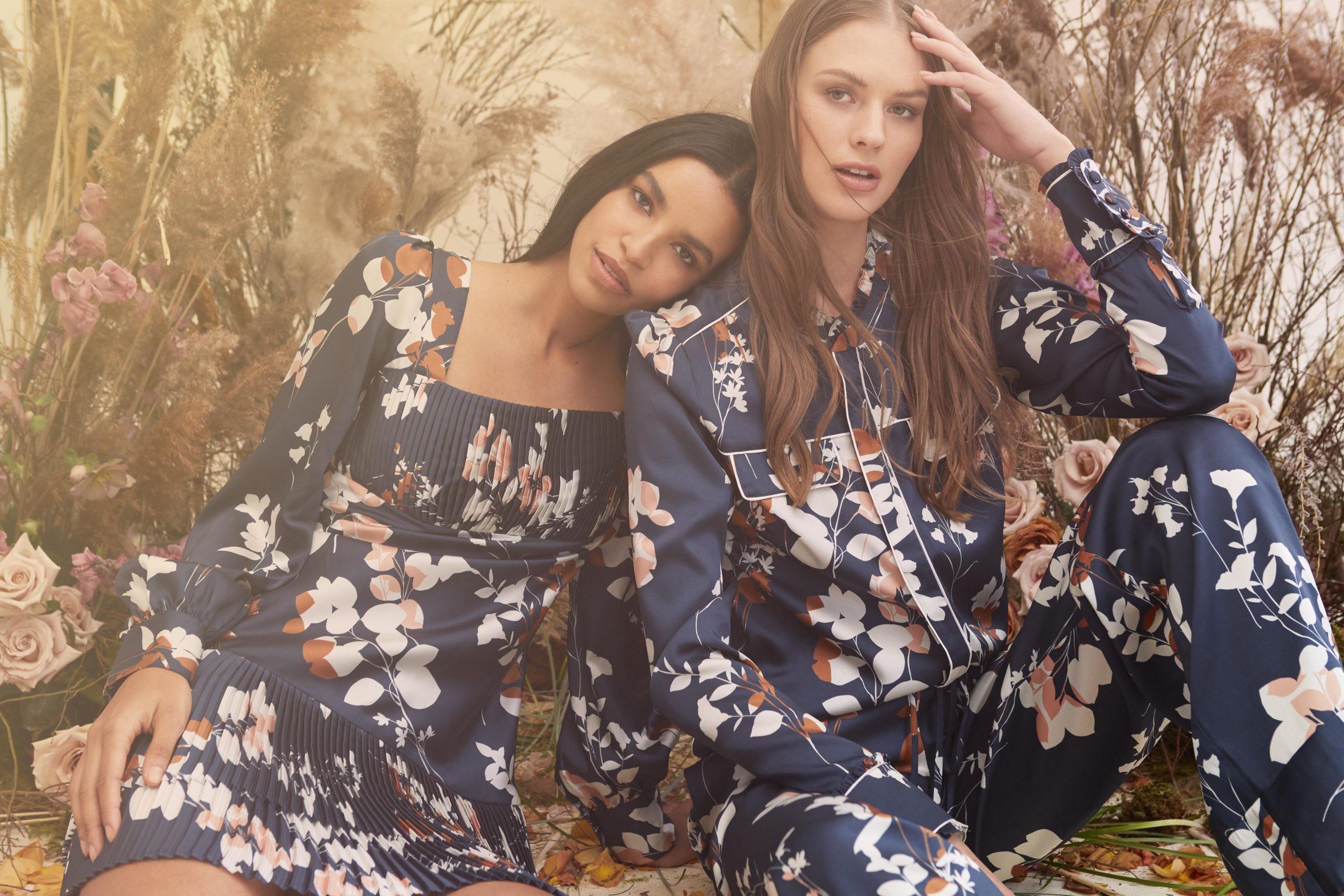 Advertising Photography for Fashion Brand Monique Lhuillier with Models Austria Ulloa and Alena Frolova I Greg Sorensen I Fashion & Beauty Photographer I NYC